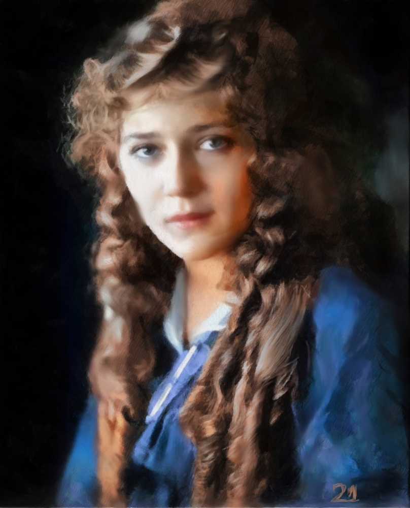 Mary Pickford by baudet